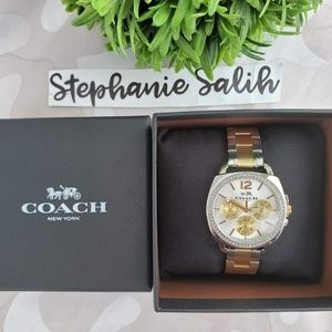 Brand New Coach Boyfriend Watch ⌚